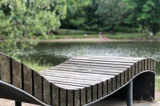 Erholung an der Saale Peißnitz direkt am Park