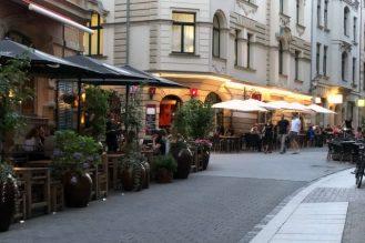 Shopping lifestyle in Halle kleine Ulrichstraße