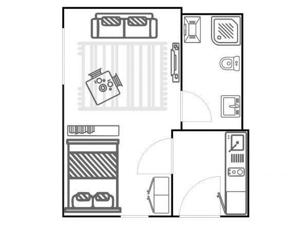 ferienwohnung halle skizze übersicht grundriss