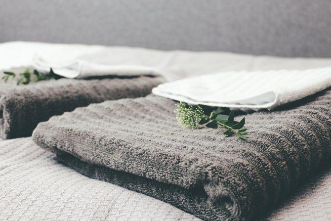 fewo halle handtücher für gäste urlauber geschäftskunden