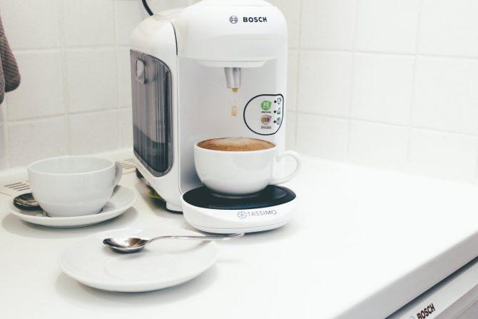 ferienwohnung halle kaffeemaschine pad tassimo